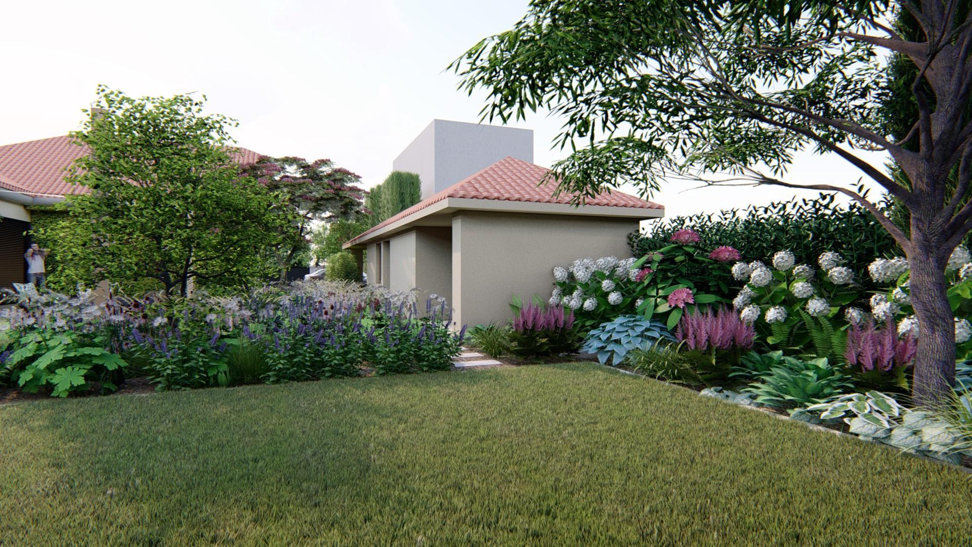 Záhrada s brezami - Obrázok č. 18