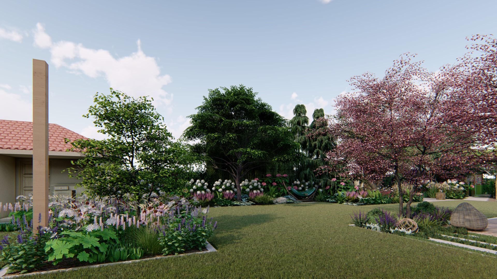 Záhrada s brezami - Obrázok č. 19