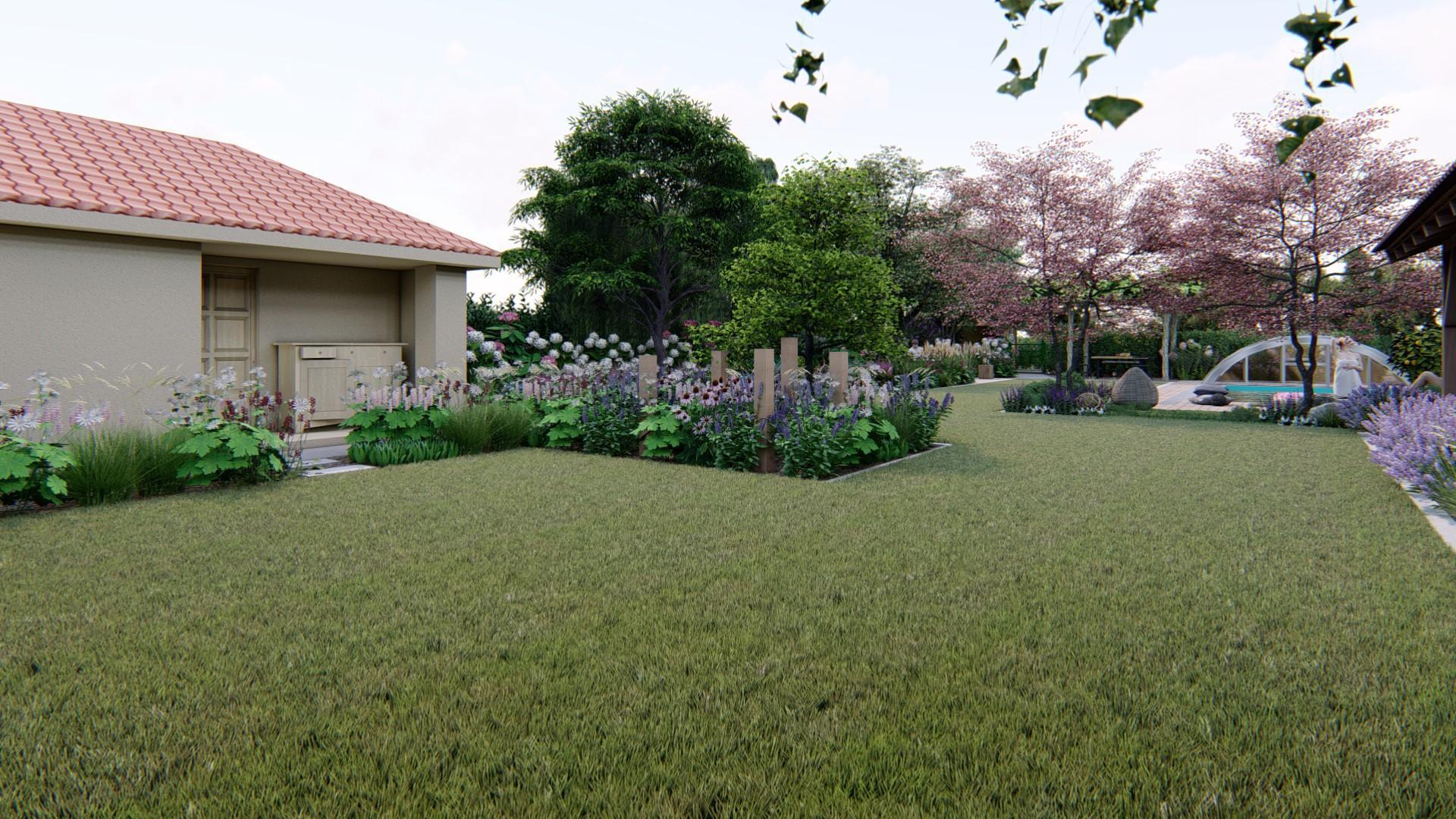 Záhrada s brezami - Obrázok č. 22