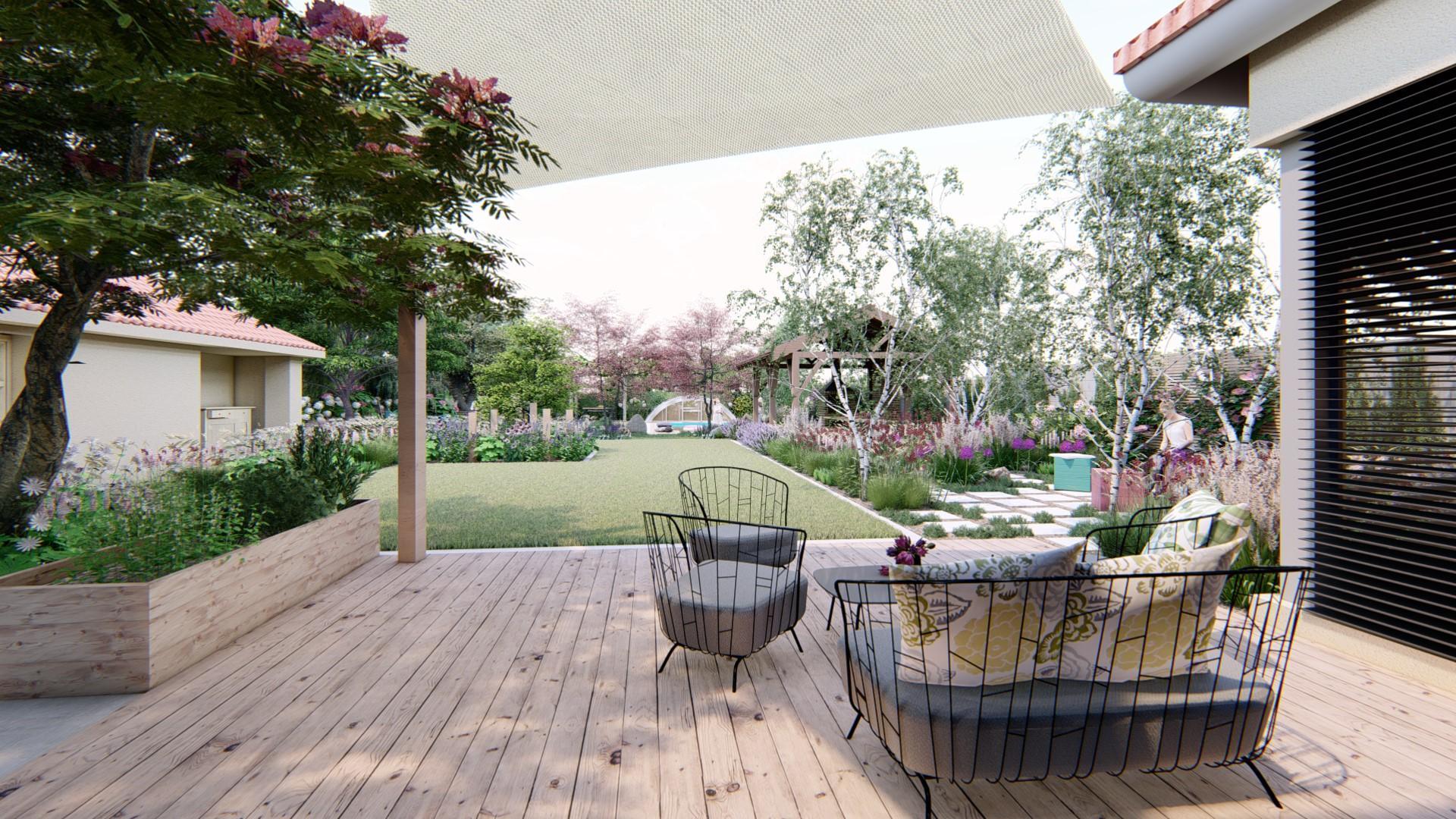 Záhrada s brezami - Obrázok č. 24