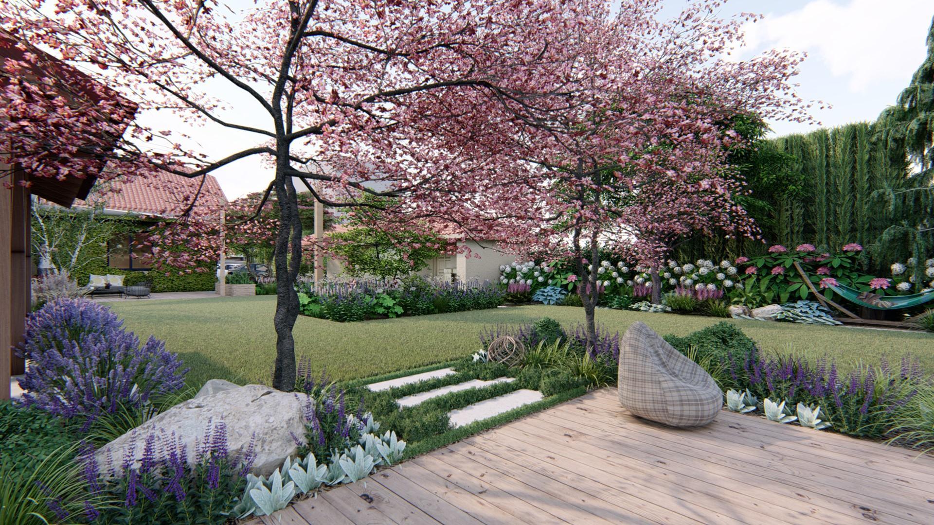 Záhrada s brezami - Obrázok č. 21