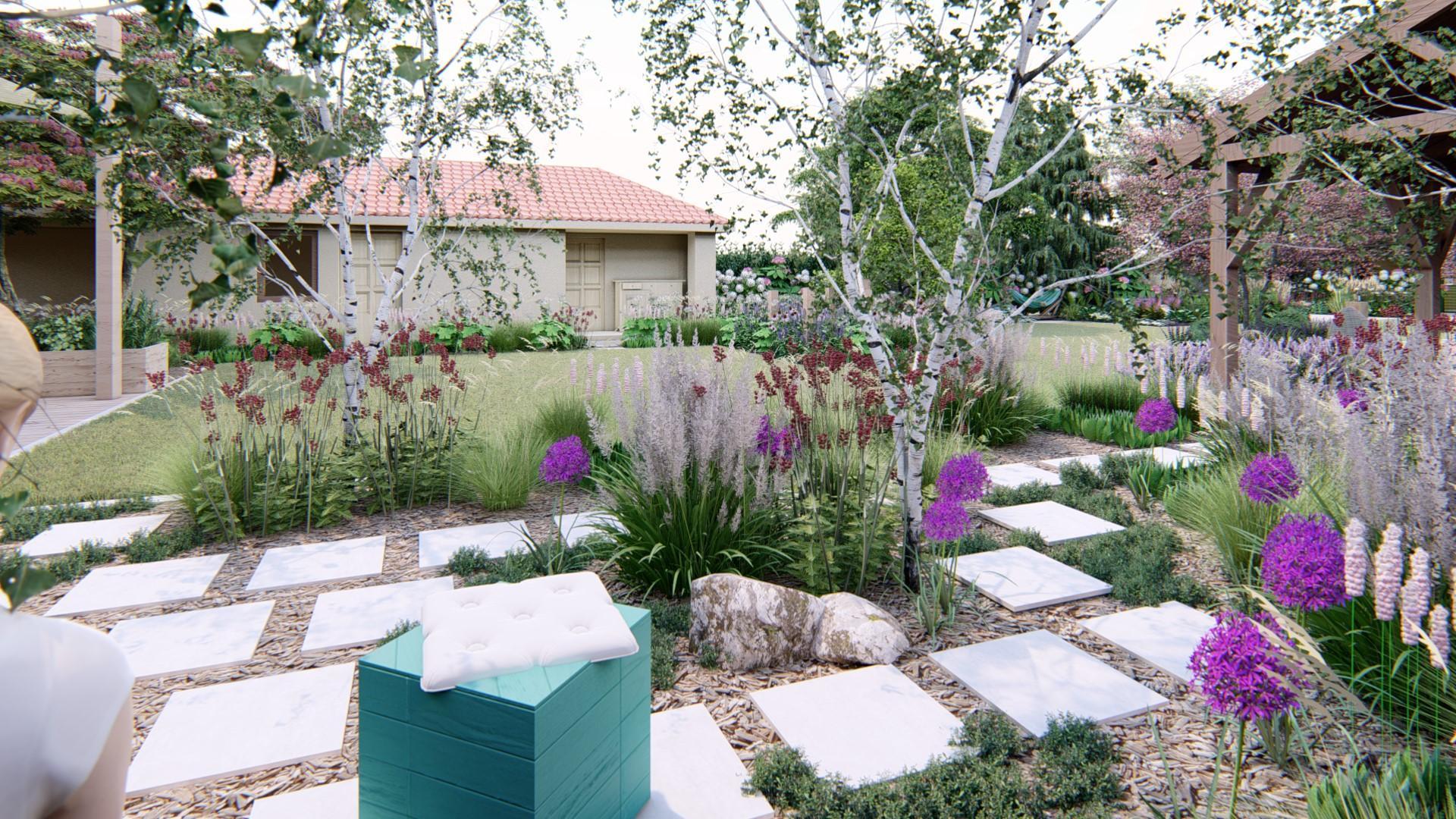 Záhrada s brezami - Obrázok č. 23