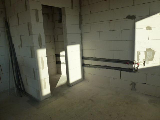 Krok za krokom... - Rozvod vody v budúcej kuchyni...