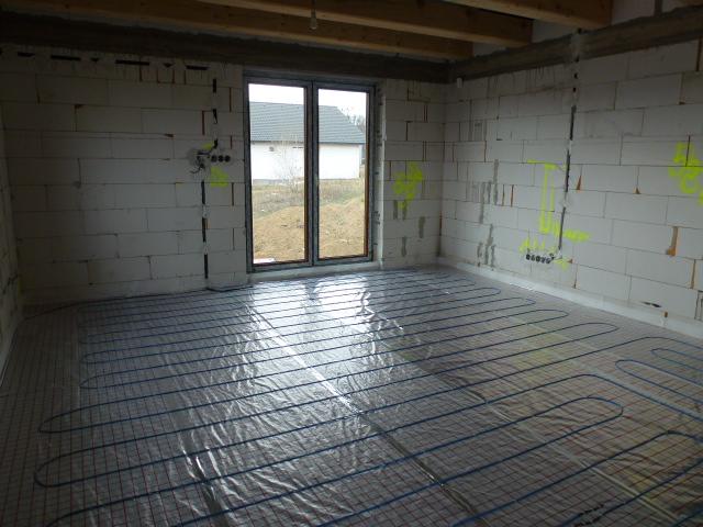 Krok za krokom... - podlahové kúrenie T2 Blue