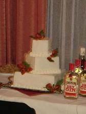 Svadobná torta ladila s mojou kyticou