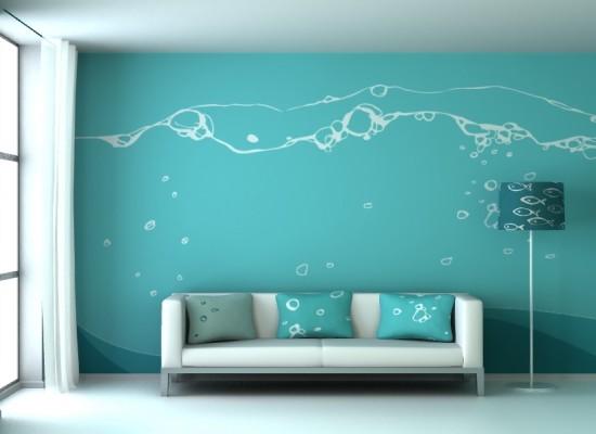 Tyrkysová ložnice - inspirace - Mohlo by být;-)