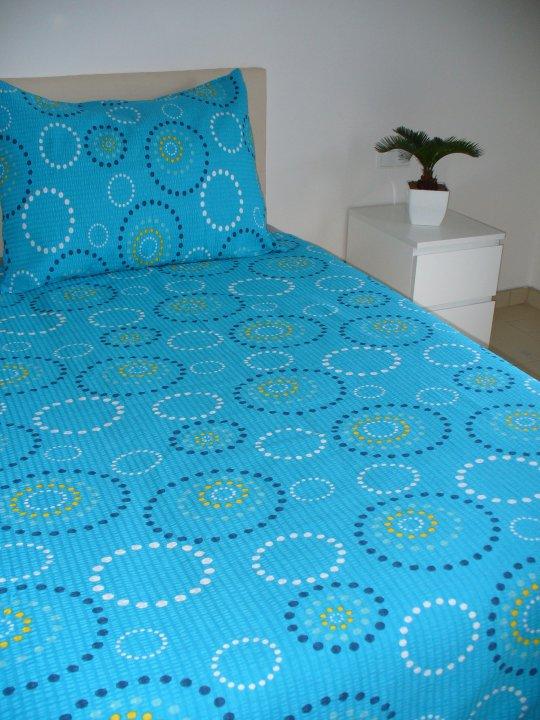 Tyrkysová ložnice - inspirace - Krásné!
