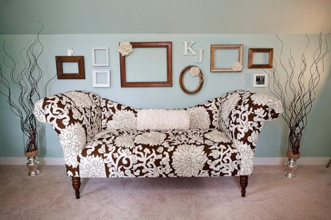 Tyrkysová ložnice - inspirace - I takováto decentní tyrkysová má něco do sebe.