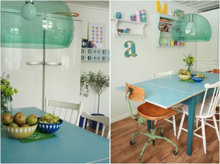 Tyrkysová ložnice - inspirace - Ty lustry se mi moc líbí!