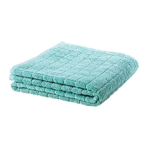 Tyrkysová ložnice - inspirace - Z ručníku z Ikey by se dal ušít polštářek do tyrkysové ložnice...
