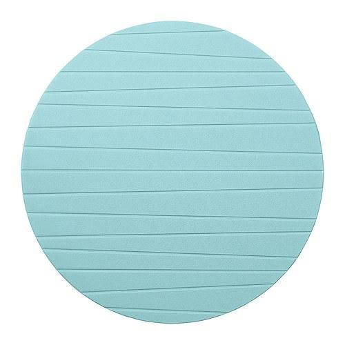 Tyrkysová ložnice - inspirace - Prostírání - mohla bych ho položit na noční stolky a bude další barevný detail na světě.