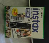 Fotopapier Fujifilm Instax widefilm 20,