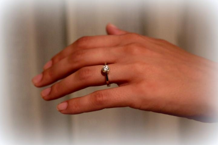 Čo už mááááme... - engagement ring