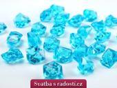 Krystalové kamínky tyrkysové,