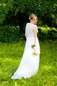 Originální romantické šaty, vhodné i pro těhotné, 38