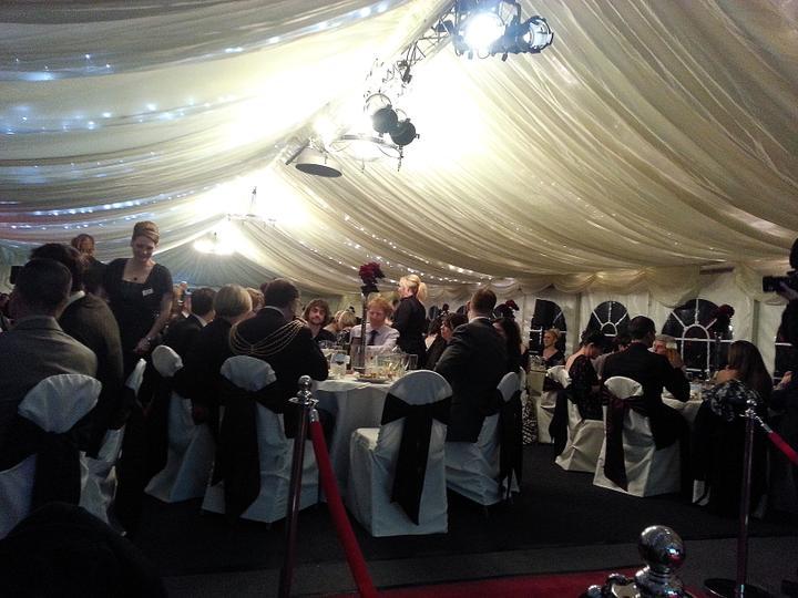 Westcountry Wedding Awards - Ne moc ostre - focene mobilem bez blesku :)