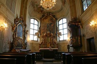 Kaple Libeňského zámečku.