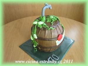 Tak takový dort by se mi líbil. Dort má dělat moje neuvěřitelně šikovná maminka, ale nevím jestli by tohle zvládla!! :-D
