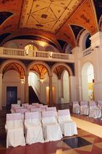 Krásná svatba na krásném místě - Dvorana muzea v Brně
