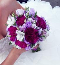 Moje svatební kytička detail