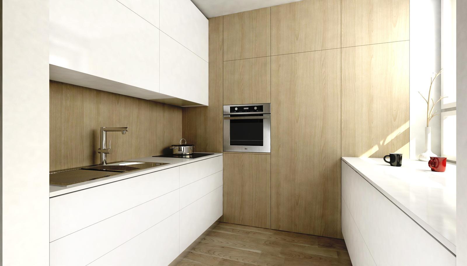 Interiér - vizualizácia kuchyne