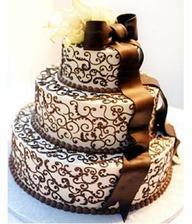 Toto bude naša hlavná torta - mňam