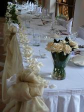 vyzdoba hlavneho svadobneho stola