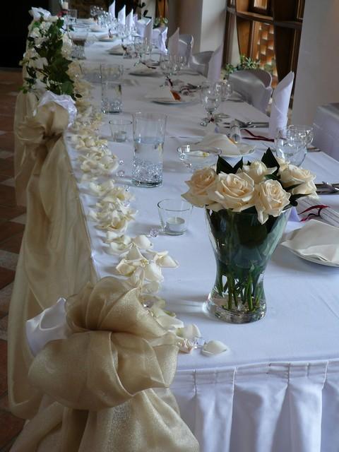Takhle podobne chci dekoraci stolu