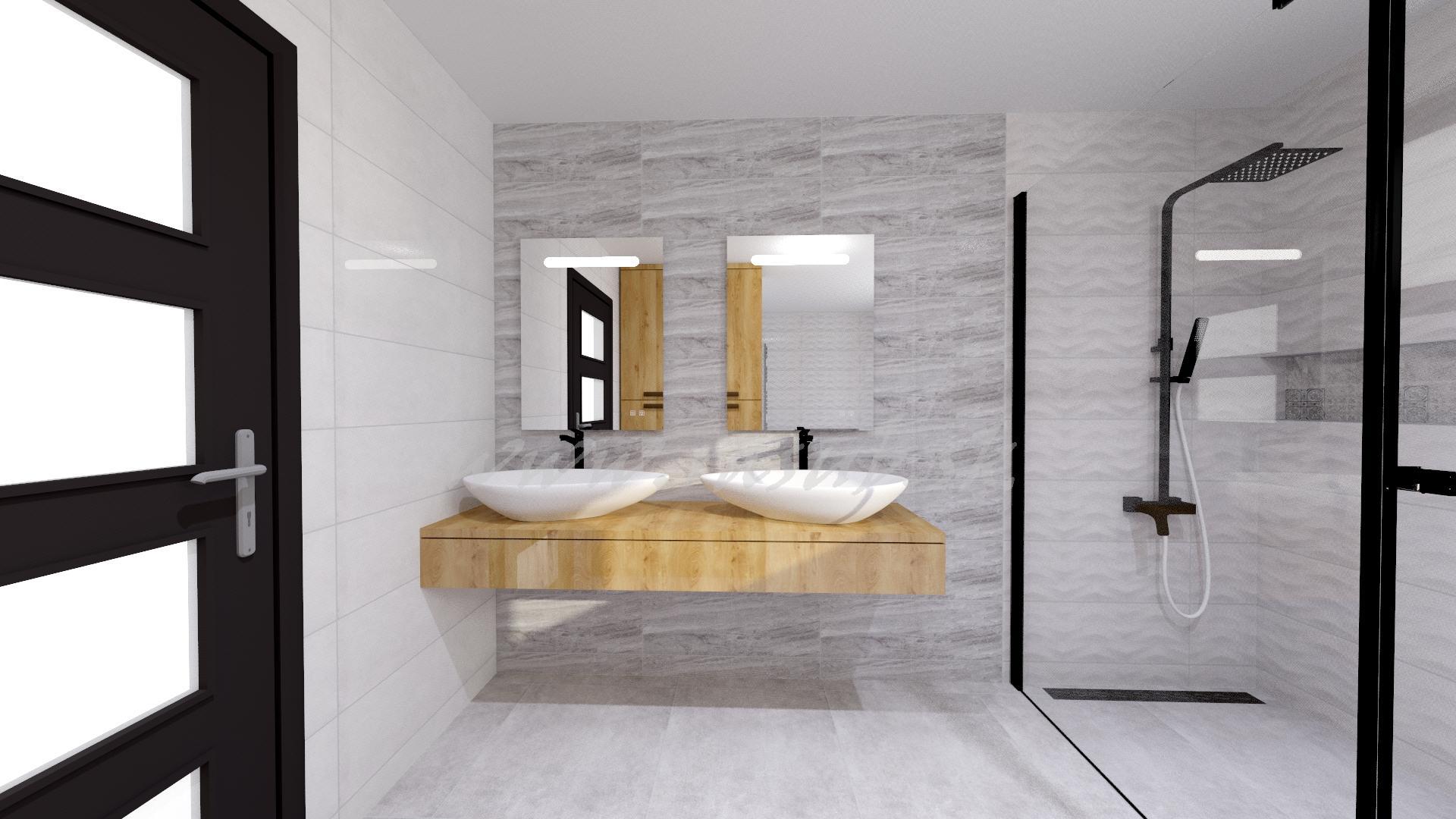 Náš domček ❤️🏡 - Vizualizácia našej kúpeľne. Čo poviete ??