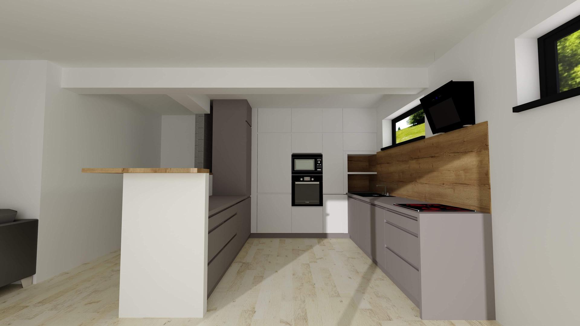 Vizualizácie kuchyne a kúpeľne