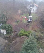 Babiccina zahrada ponekud utrpela...