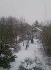 Prosinec 2010 - napadlo trosku vic snehu...