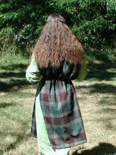 Taky moje vlasy (keltsky odev byl jen kvuli jednomu foceni :))
