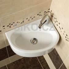 Horni WC - umyvadylko Bigio (uz mame)