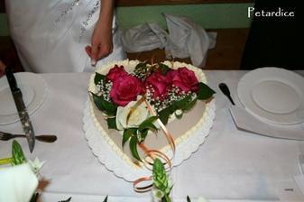 Spodní patro dortu