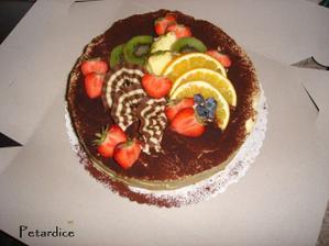 Zbylé tři dorty jsme vyfotili narychlo před dáním do výslužek - tiramisu