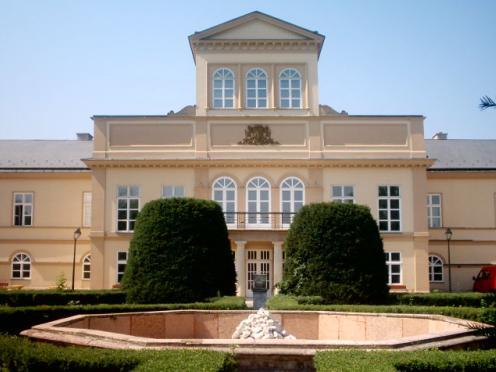 Lenka a Erik - príprava na 11.3.2006 - tak tu bude svadobná hostina - kaštieľ v Palárikove
