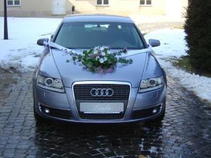 Svadobné autíčko...