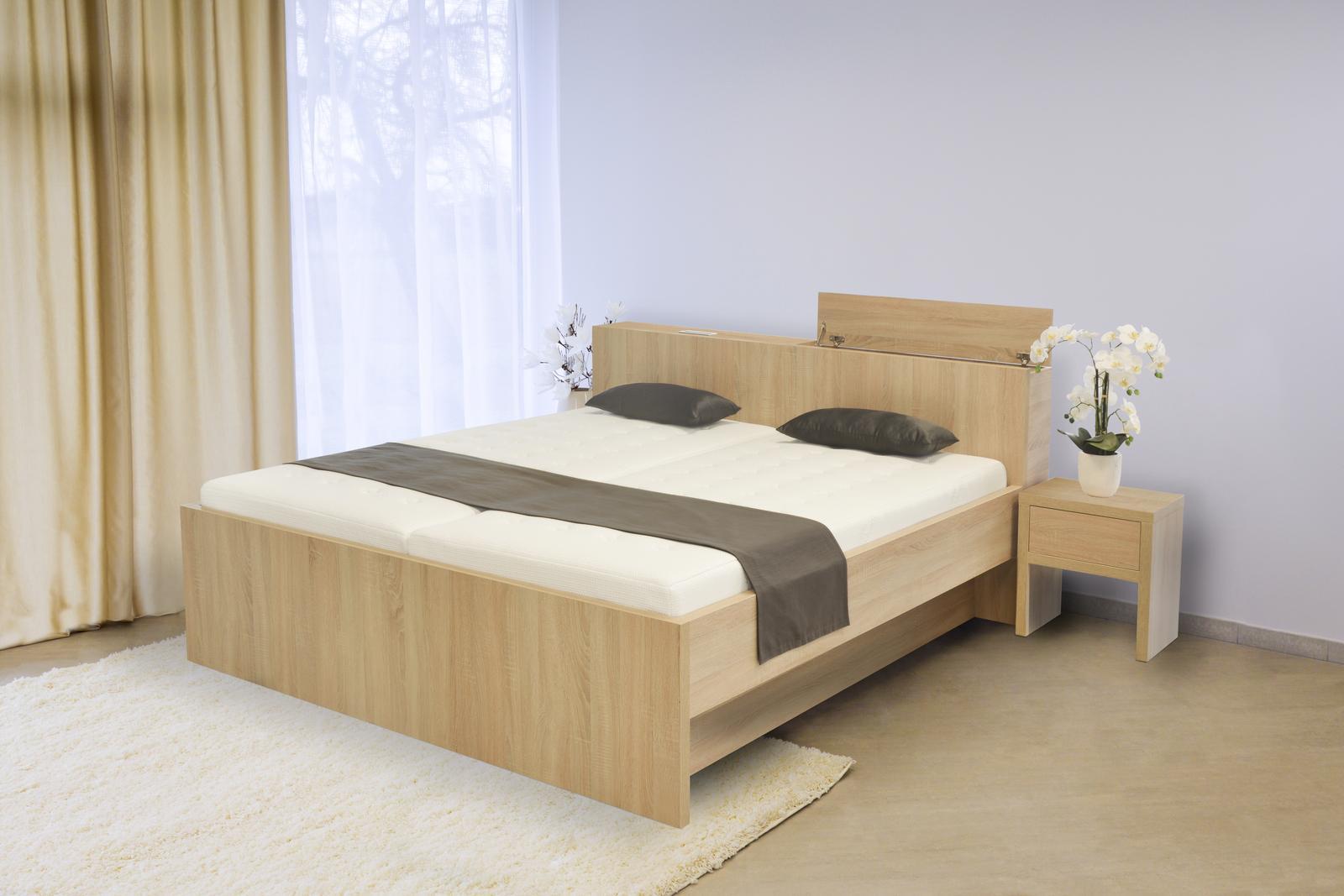 S vůní dřeva - Dřevěná postel Tropea s boxem