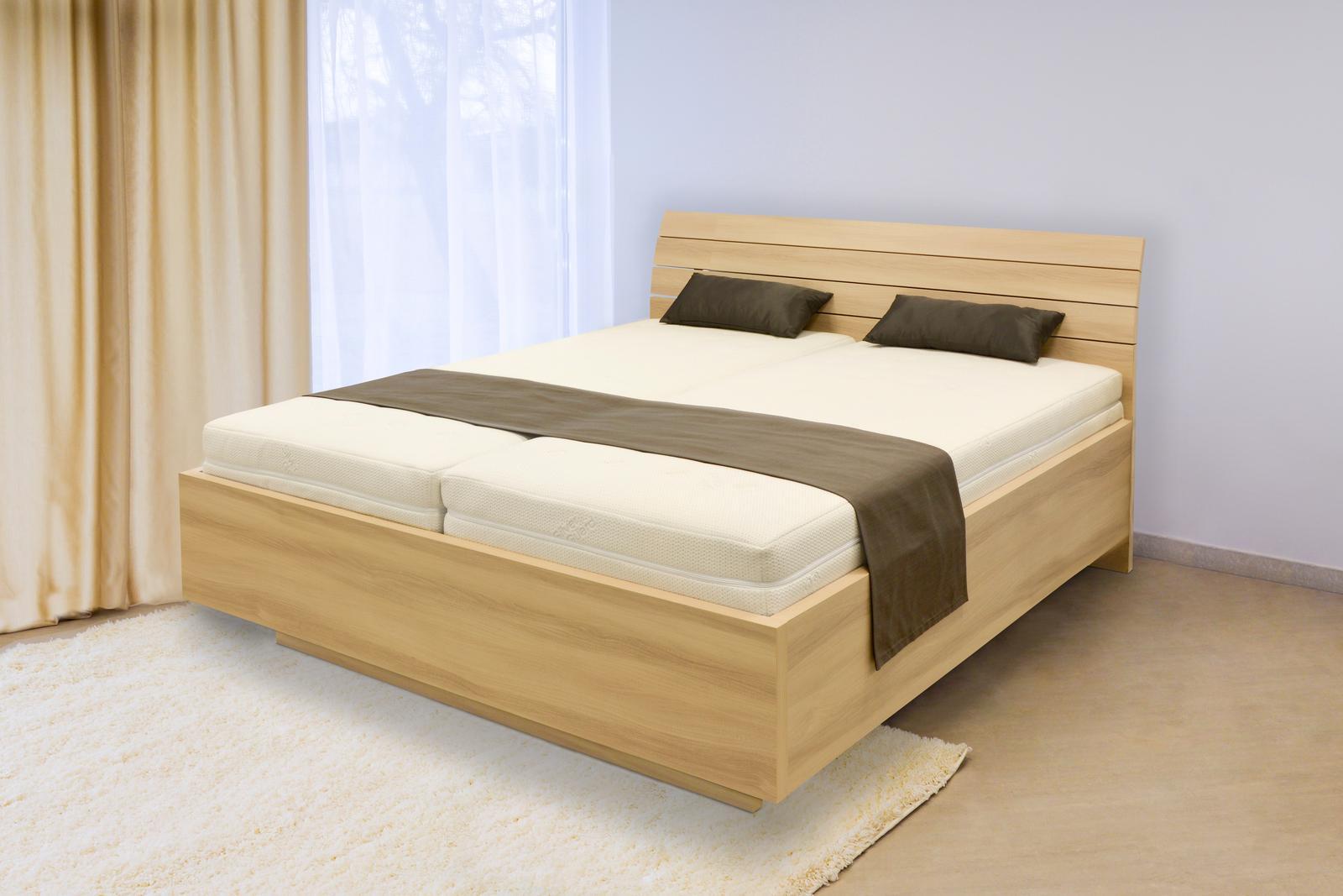 S vůní dřeva - Dřevěná postel Salina basic