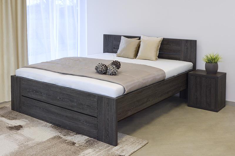 S vůní dřeva - Dřevěná postel Lorano
