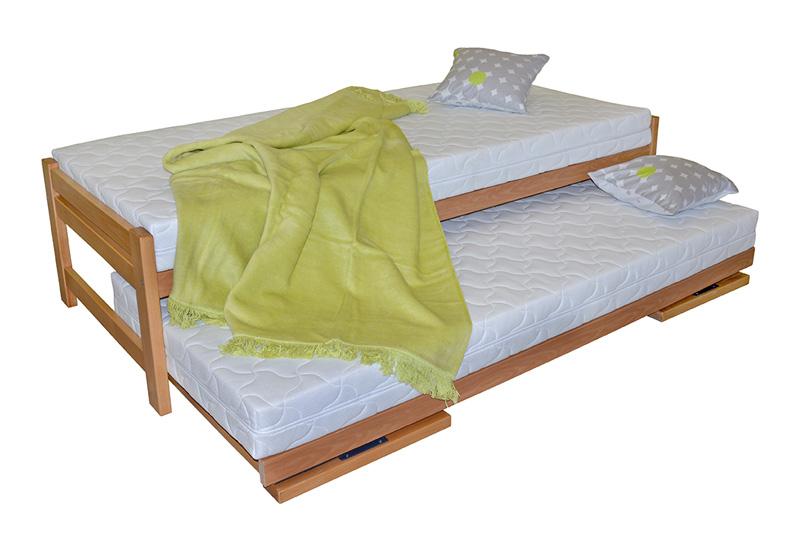 S vůní dřeva - Rozkládací postel z masivu Duelo