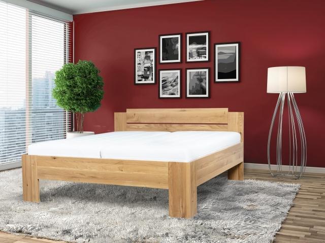 S vůní dřeva - Masivní postel Grado