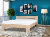 Masivní postel Vento