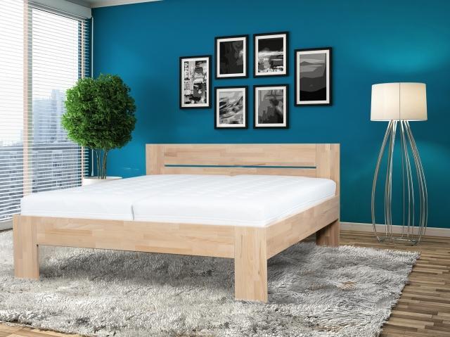 S vůní dřeva - Masivní postel Vento