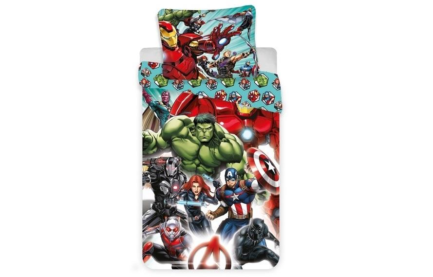 Aby Vaše děti usínaly se svými hrdiny - Povlečení Avengers Comics