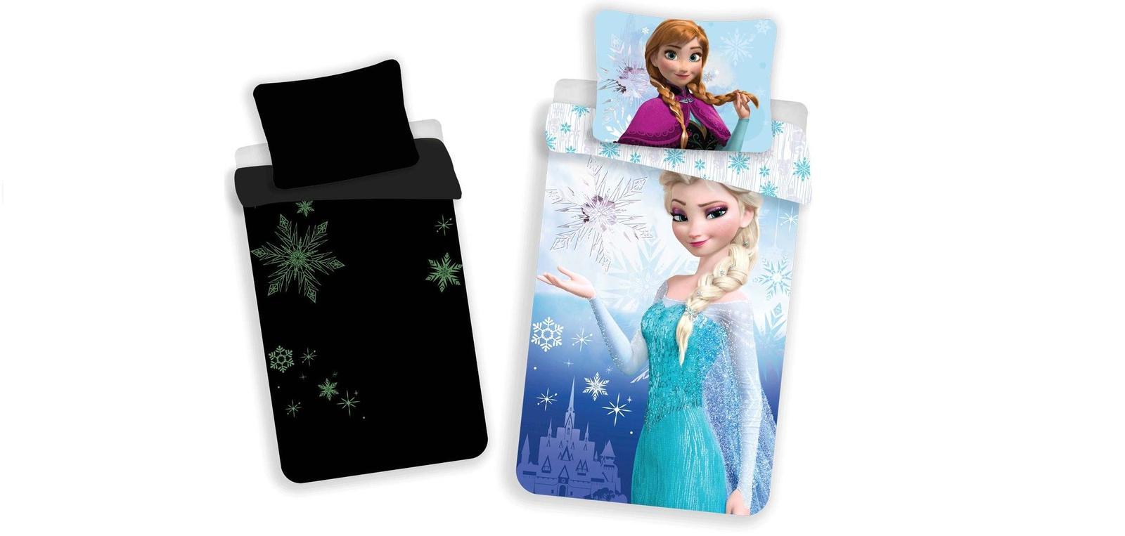 Aby Vaše děti usínaly se svými hrdiny - Svítící povlečení Frozen 02