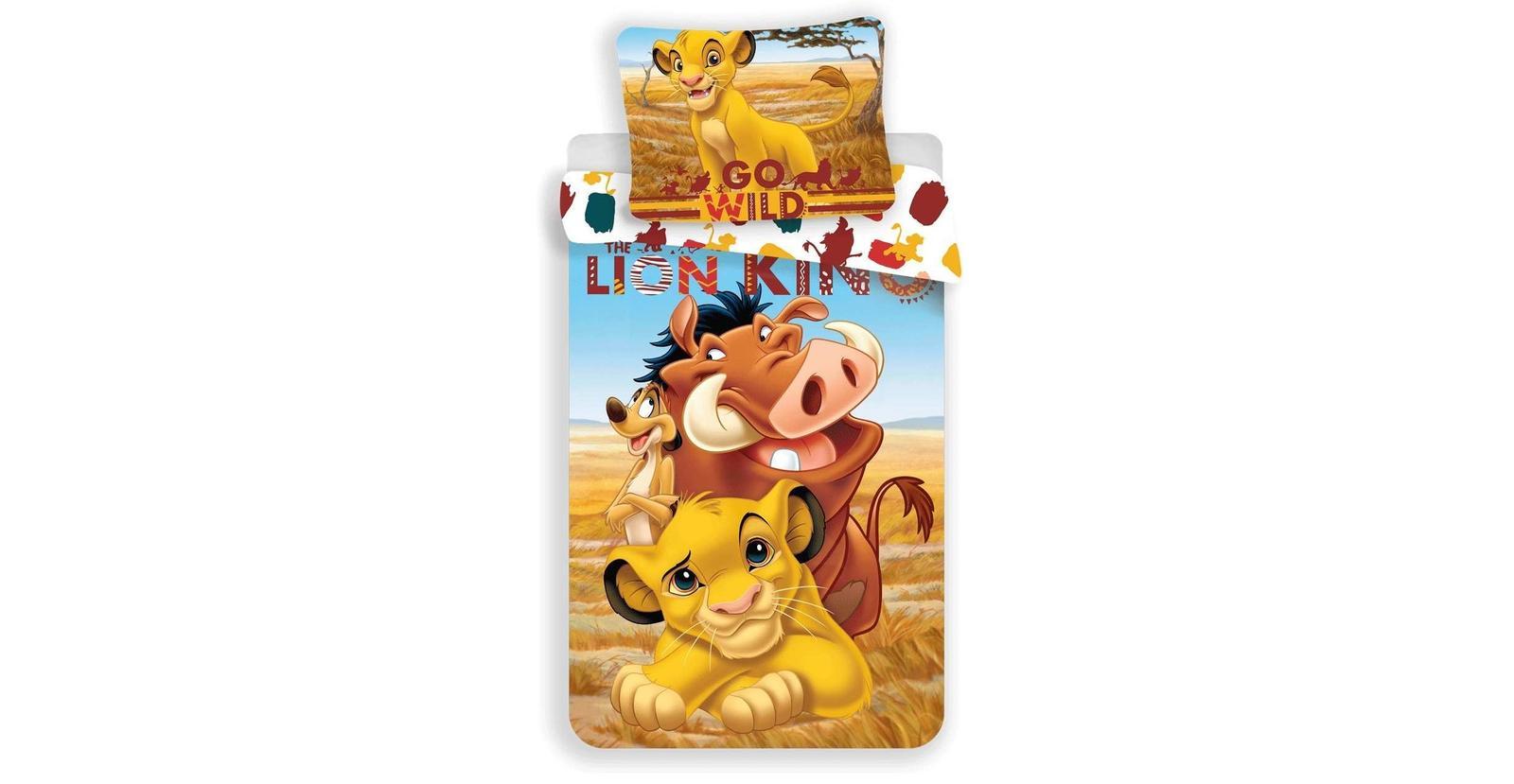 Aby Vaše děti usínaly se svými hrdiny - Bavlněné povlečení Lví král