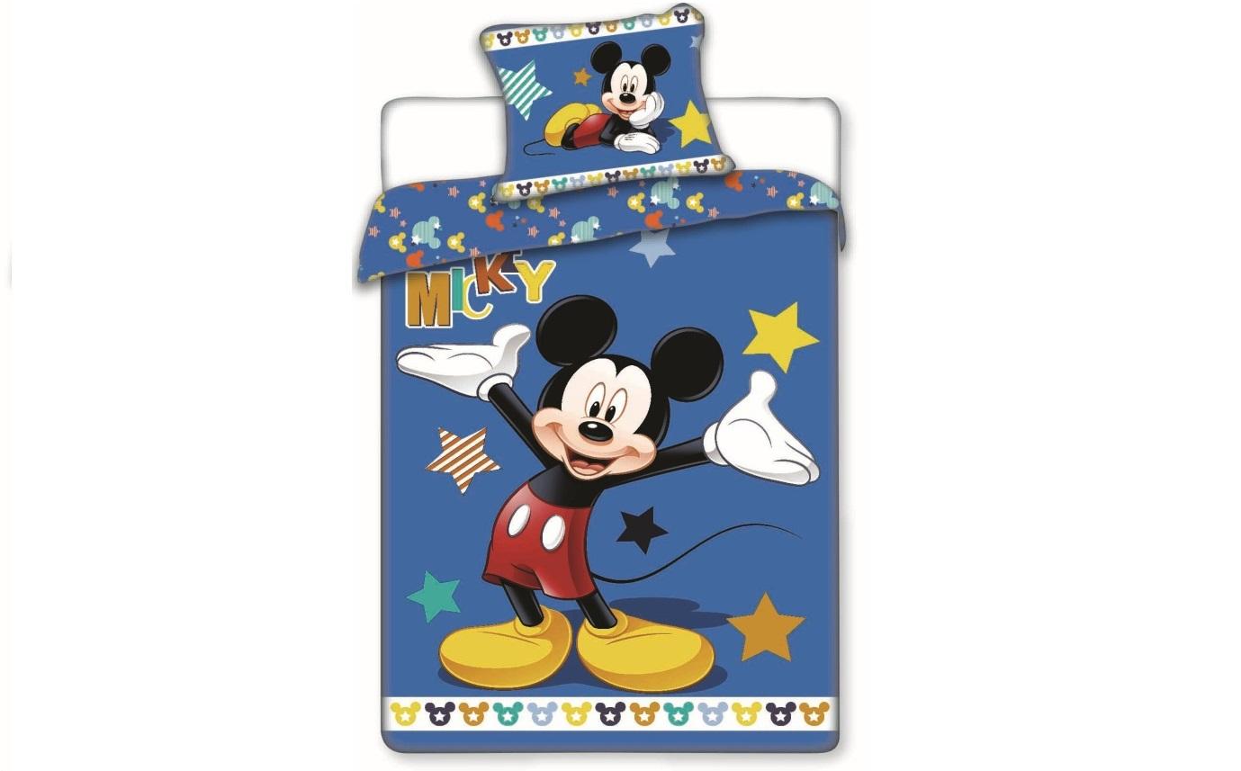 Aby Vaše děti usínaly se svými hrdiny - Bavlněné povlečení Mickey star