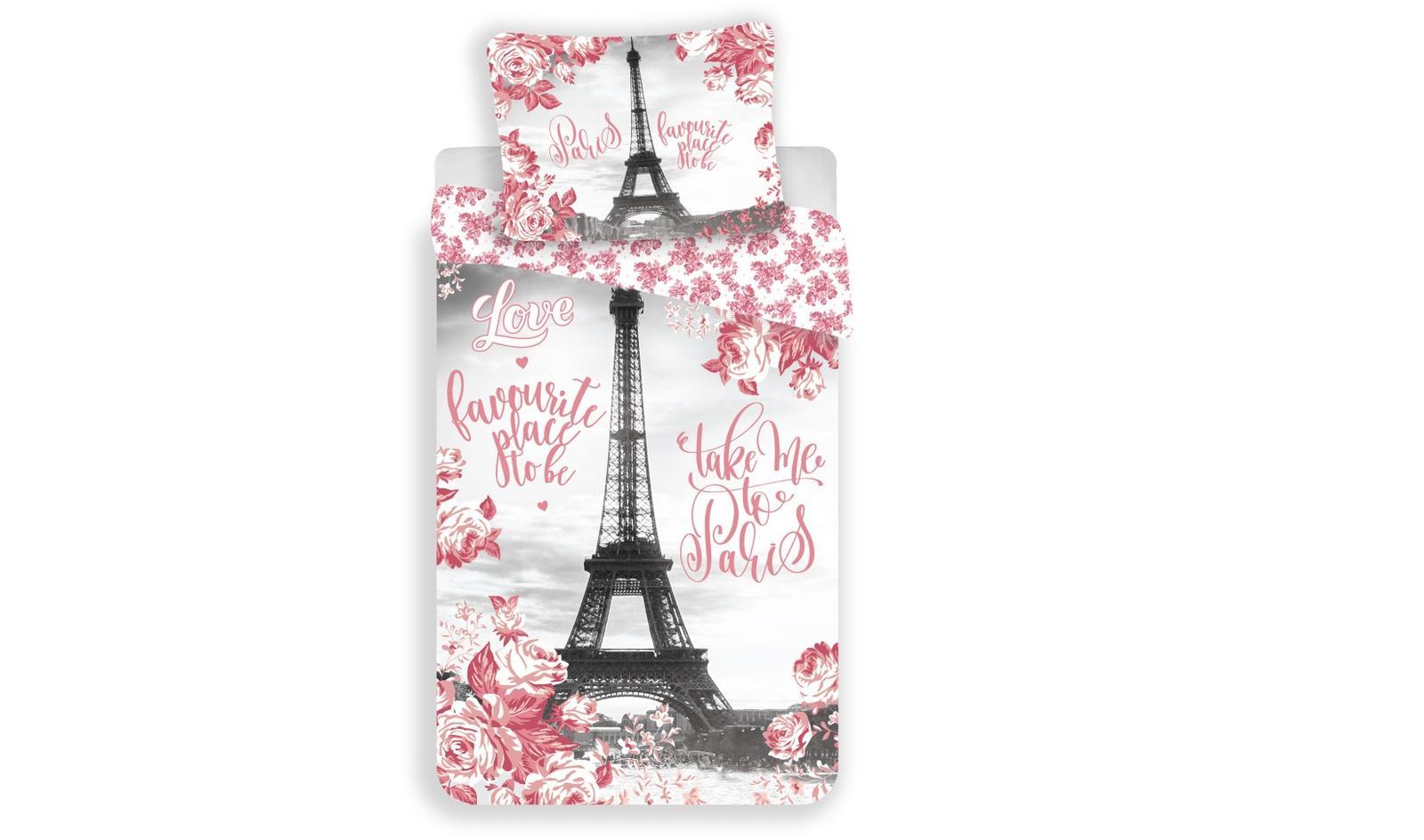 Aby Vaše děti usínaly se svými hrdiny - Bavlněné povlečení Paris roses